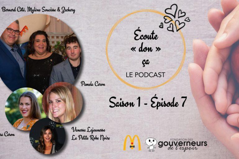 """Écoute """"don"""" ça – S01 – EP07: Zachary et sa famille, les soeurs Caron et La Petite Robe Noire"""