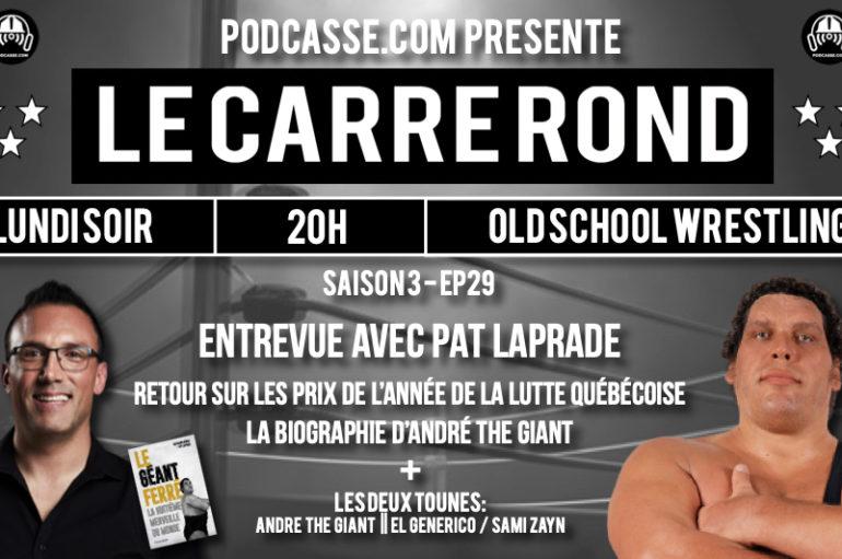Le Carré Rond – S03 – EP29: Pat Laprade remet les pendules à l'heure