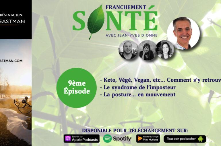 Franchement Santé – S01- EP09: Les nombreuses diètes, syndrome de l'imposteur et posture en mouvement