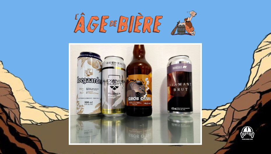 L'Âge de Bière – S02 – EP13: Hoegaarden, Alexander Scott et Gros Ours