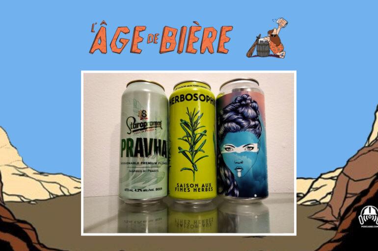 L'Âge de Bière – S02 – EP14: Pravha, Herbosophie et Double Aura