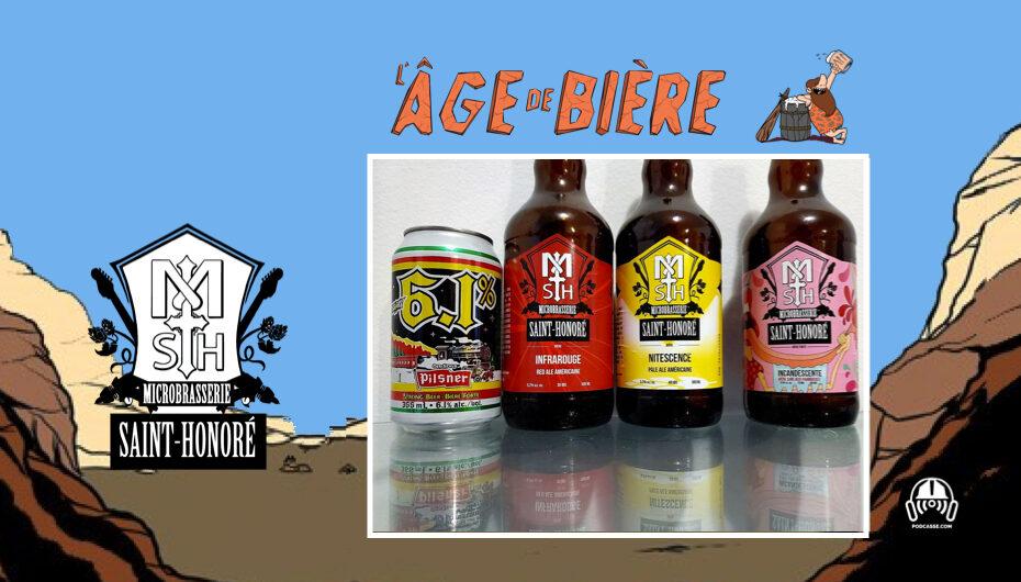 L'Âge de Bière – S02 – EP18: Avec Micro Saint-Honoré – Old Style Pilsner 6.1, Infrarouge et Nitescence