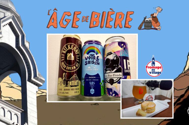 L'Âge de Bière – S02 – EP19: Kilkenny, Votre Saison et IPA Impériale par Les Bas-Fonds