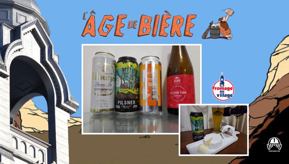 L'Âge de Bière – S02 – EP20: Bitburger, Pilsner du Castor et Kölsch de Shelton