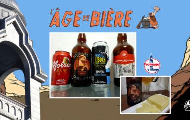 L'Âge de Bière – EP69 avec Elena – Molson Export, Dominus Vobiscum et Soixante-Neuf