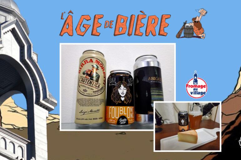 L'Âge de Bière – S02 – EP22: Birra Moretti, Foublonne et Abigail