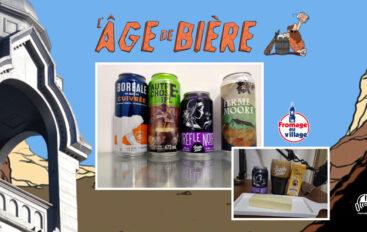 L'Âge de Bière – S02 – EP23 avec Sam: Boréale Cuivrée, Autre Chose et Trèfle Noir