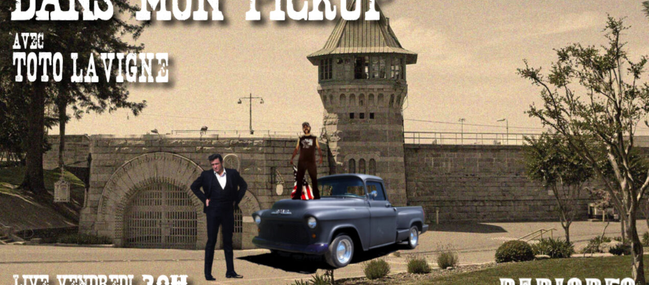 Dans mon Pickup avec Toto Lavigne – 7 Août: The Man in Black