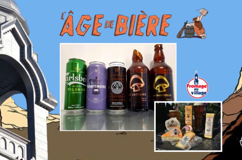 L'Âge de Bière – S02 – EP26: Carlsberg Pilsner, Pointe Noire et Yirgacheffe