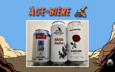 L'Âge de Bière – S02 – EP29: Big Little Lager, Amber Abitibi et Darling