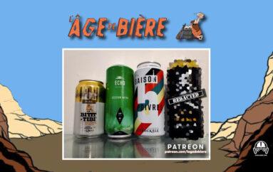 L'Âge de Bière – S02 – EP32: Bittt à Tibi Pilsner, Session NEPIA et Saison 5 Poivres