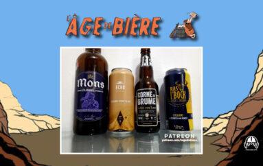 L'Âge de Bière – S02 – EP38 avec JF Legentil – Mons Dubbel, Session Stout Blanc et Corne de Brume