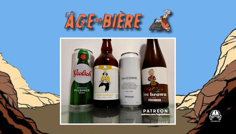 L'Âge de Bière – S02 – EP40: Grolsch, Blonde du Pêcheur et Salicorne