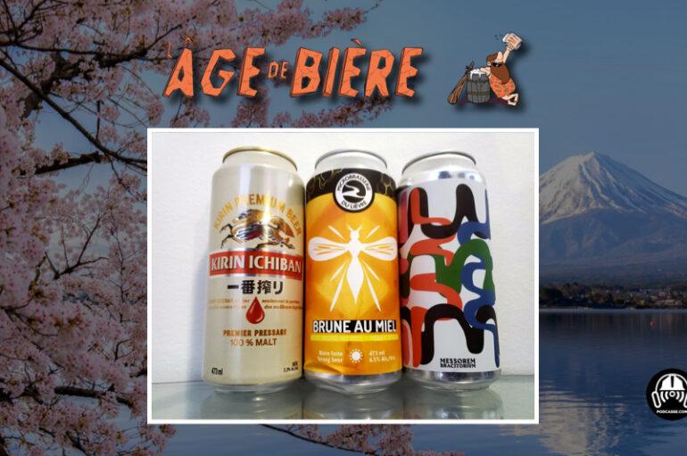 L'Âge de Bière – S02 – EP41: Kirin Ichiban, Brune au Miel et Full Capoté