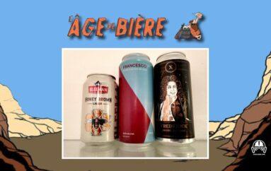 L'Âge de Bière – S03 – EP06: Sleeman Honey Brown, Francesco et Frederick