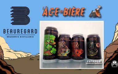 L'Âge de Bière – S03 – EP11: avec Beauregard – Dry Stout, Latté Praline et Espresso Corsé