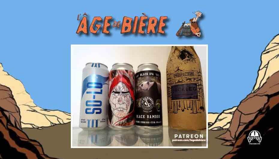 L'Âge de Bière – S03 – EP14: Goose Island So-Lo, Syn Rouge et Black Bambou