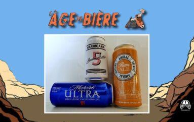 L'Âge de Bière – S03 – EP17: Michelob Ultra, 5 et Rum Ale