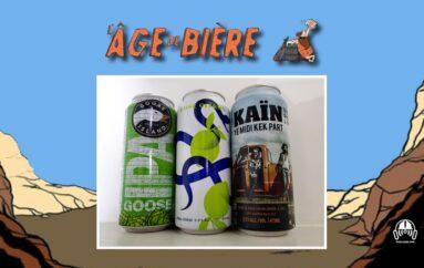 L'Âge de Bière – S03 – EP19: Goose Island IPA, Citron Pressé et Kaïn