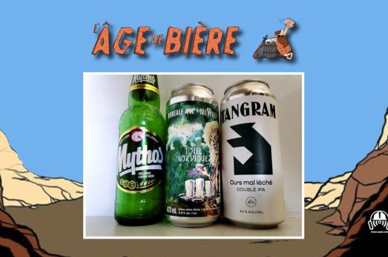 L'Âge de Bière – S03 – EP21: Mythos, Toile nordique et Ours mal léché