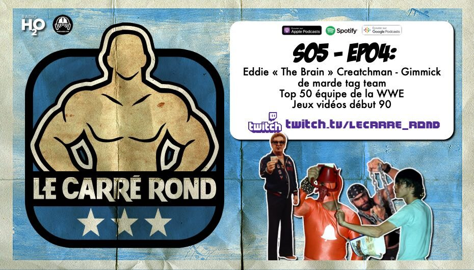 Le Carré Rond – S05 – EP04: On Twitch !