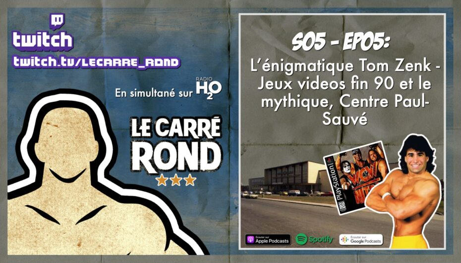 Le Carré Rond – S05 – EP05: L'énigmatique Paul Zenk & Le mythique Centre Paul-Sauvé