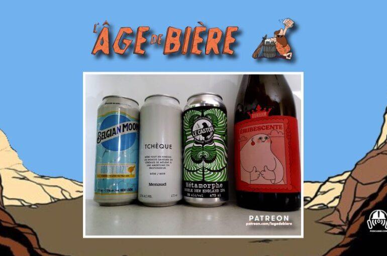 L'Âge de Bière – S03 – EP27:  Belgian Moon Honey Daze, Tchèque et Métamorphe