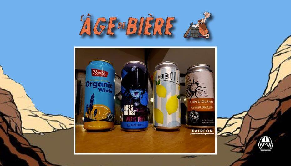 L'Âge de Bière – S03 – EP28 avec Karl: Organic White, Miss Ghost et Lime Poivrée DDC
