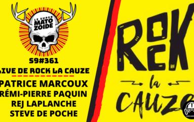 Le Super Matozoïde – S9#361: LIVE de ROCK LA CAUZE