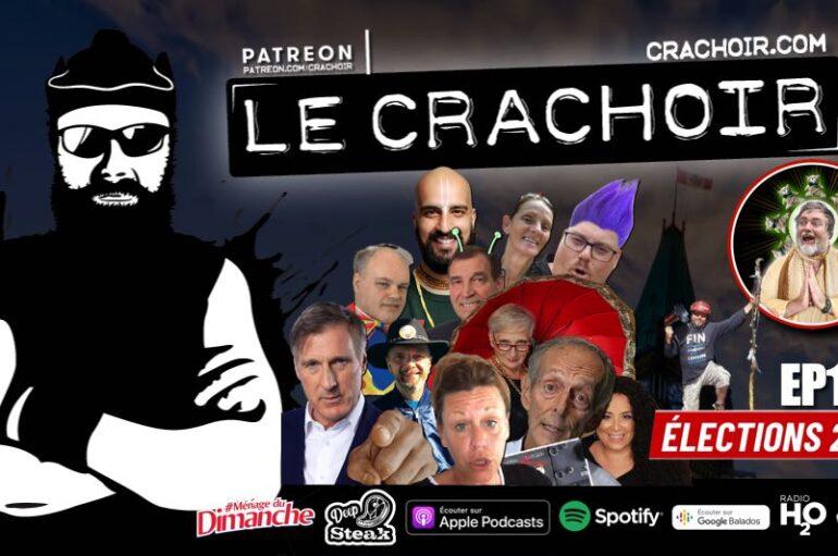 Le Crachoir – EP176: Élections 2021