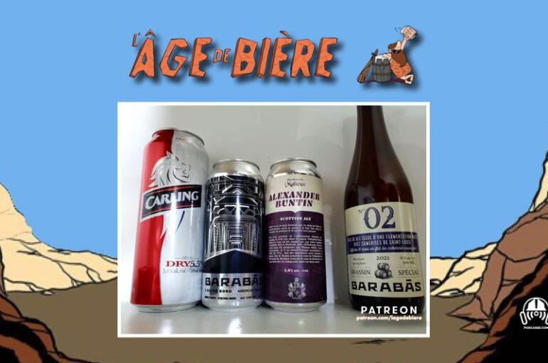 L'Âge de Bière – S03 – EP37: avec Jé Gagné – Carling Dry, L'Autre bord et Alexander Buntin